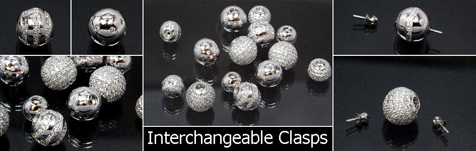 Interchangeable Clasps 925