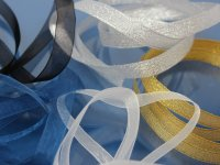 Organza Ribbon by Meter