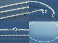 Curb Chain 2-sides diamond cut