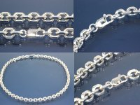 Anchor Chain 8-side diamond cut