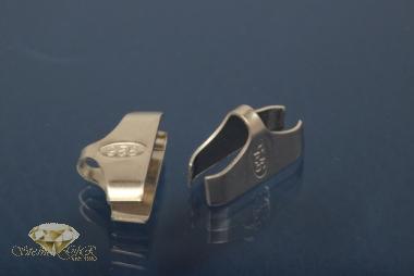 Kautschukenden 925/- Silber 12,0mm