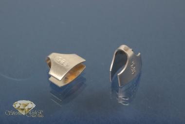 Kautschukenden 925/- Silber 8,0mm