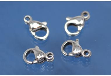 Trigger Clasp ca. 9mm, Stainless Steel