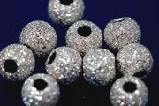 Beads laser cut heavy version 6,0mm 925/- Silver