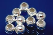 Beads smooth polished special version 5,0mm 925/- Silver