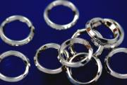 split ring polished Ø7,0mm 925/- Silver