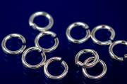 Jump rings round open 5,0mm 925/- Silver