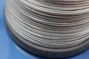 Jewelry wire stainless steel coated on 1000m spool 1,00mm   19 strands clear