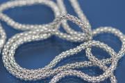 Hoops 925/- silver rodium plated RDØ 3mm x AØ60mm