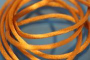 1m Rattail Cord ca. Ø2,2mm, amber