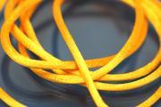 1m Rattail Cord ca. Ø2,2mm, yellow