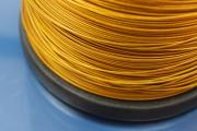 1000m Spool stainless steel gold color  Ø1,0mm 7 strands